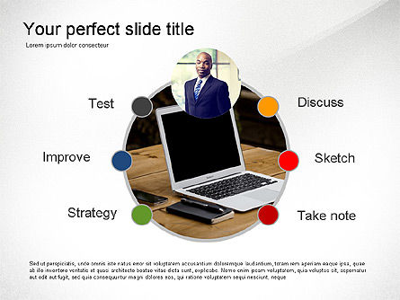 Creativity Stages Presentation, Slide 4, 03496, Presentation Templates — PoweredTemplate.com