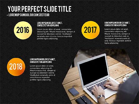 Project Results Presentation Concept, Slide 14, 03497, Presentation Templates — PoweredTemplate.com