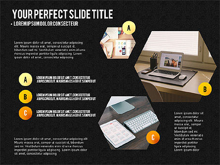 Project Results Presentation Concept, Slide 16, 03497, Presentation Templates — PoweredTemplate.com