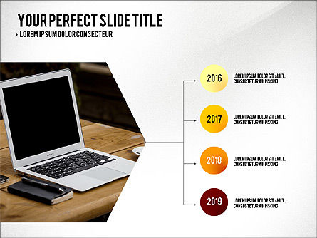 Project Results Presentation Concept, Slide 3, 03497, Presentation Templates — PoweredTemplate.com