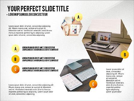 Project Results Presentation Concept, Slide 8, 03497, Presentation Templates — PoweredTemplate.com