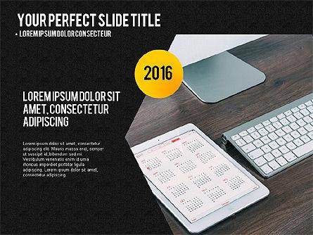 Project Results Presentation Concept, Slide 9, 03497, Presentation Templates — PoweredTemplate.com