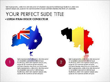 Country Comparison Presentation Template, Slide 4, 03502, Presentation Templates — PoweredTemplate.com