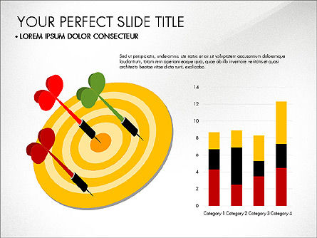 Marketing Presentation with Data Driven Charts, Slide 3, 03504, Presentation Templates — PoweredTemplate.com