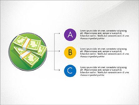Time and Money Presentation Concept, Slide 3, 03508, Presentation Templates — PoweredTemplate.com