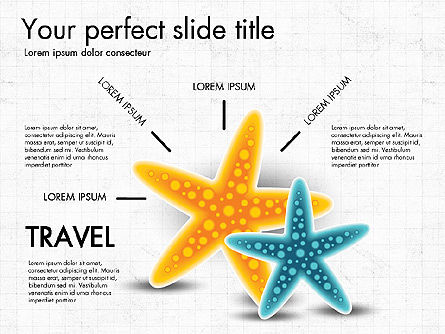 Vacation Planning Presentation Concept, 03512, Presentation Templates — PoweredTemplate.com