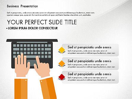 Business Networking Slide Deck, Slide 2, 03513, Presentation Templates — PoweredTemplate.com