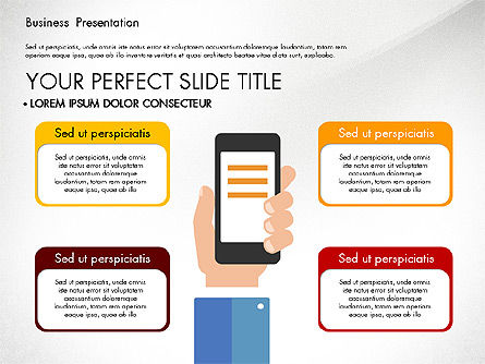 Business Networking Slide Deck, Slide 3, 03513, Presentation Templates — PoweredTemplate.com