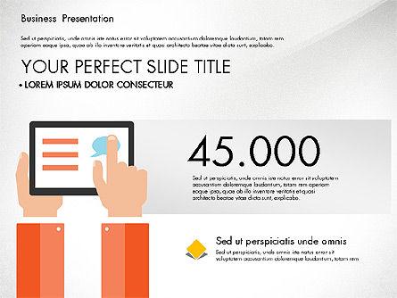 Business Networking Slide Deck, Slide 4, 03513, Presentation Templates — PoweredTemplate.com