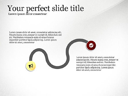 Timeline Serpentine and Conjunction, Slide 2, 03514, Timelines & Calendars — PoweredTemplate.com