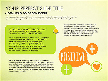 Healthy Lifestyle Presentation Template, Slide 2, 03522, Presentation Templates — PoweredTemplate.com