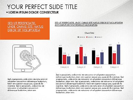 Grid Layout Flat Designed Presentation, Slide 2, 03524, Presentation Templates — PoweredTemplate.com
