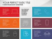 Presentation Templates: Présentation de la grille présentation à plat #03524