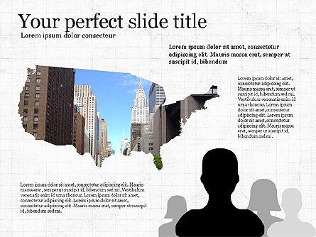 Presentation Templates: USA Presentation Concept #03526