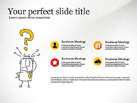 Idea Development Doodles Presentation Template, Slide 4, 03529, Presentation Templates — PoweredTemplate.com
