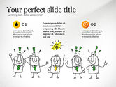 Presentation Templates: Idea Development Doodles Presentation Template #03529