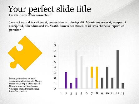 Presentation Concept with Puzzle Pieces, Slide 3, 03530, Puzzle Diagrams — PoweredTemplate.com