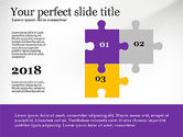 Puzzle Diagrams: Presentation Concept with Puzzle Pieces #03530