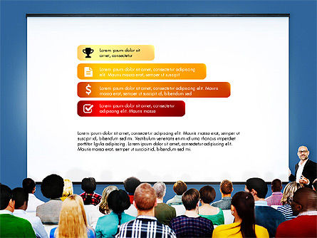Data Driven Diagrams Presentation Template, Slide 2, 03537, Data Driven Diagrams and Charts — PoweredTemplate.com