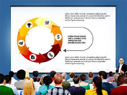 Data Driven Diagrams Presentation Template, Slide 4, 03537, Data Driven Diagrams and Charts — PoweredTemplate.com
