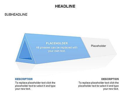 Hollow Triangle Diagram, Slide 2, 03541, Stage Diagrams — PoweredTemplate.com