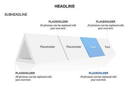 Hollow Triangle Diagram, Slide 4, 03541, Stage Diagrams — PoweredTemplate.com