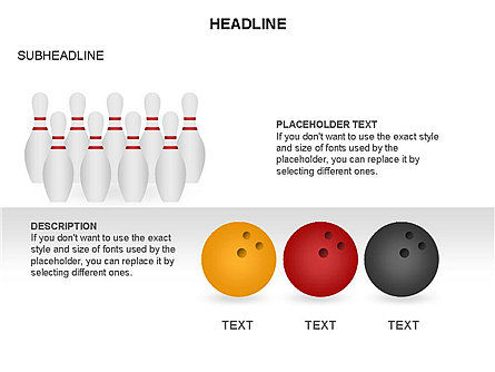 Bowling Alley Pins Diagram Slide 3