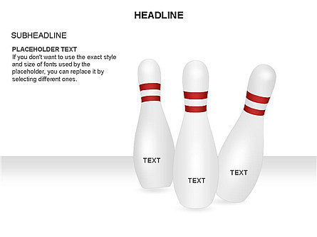 Bowling Alley Pins Diagram Slide 4