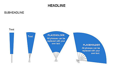 Hand Fan Diagram Set Slide 4
