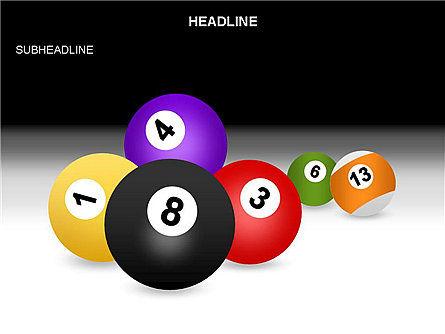 Billiards Shapes and Diagrams, Slide 3, 03547, Shapes — PoweredTemplate.com