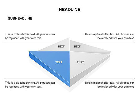 Shapes Composed of Triangles, Slide 2, 03577, Shapes — PoweredTemplate.com