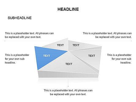 Shapes Composed of Triangles, Slide 3, 03577, Shapes — PoweredTemplate.com