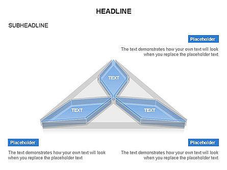 Shapes Composed of Rhombus, Slide 3, 03580, Shapes — PoweredTemplate.com