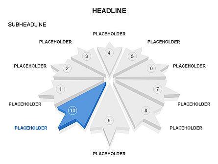 Arrows and Diagrams, Slide 2, 03581, Shapes — PoweredTemplate.com