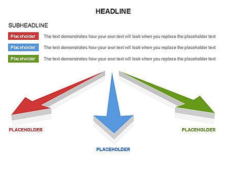 Arrows and Diagrams, Slide 3, 03581, Shapes — PoweredTemplate.com