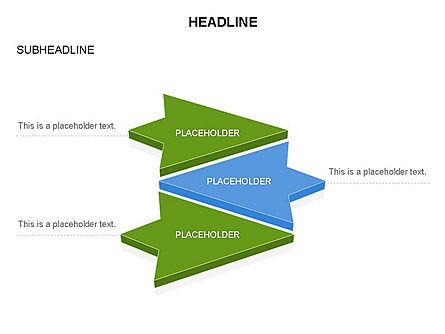 Arrows and Diagrams, Slide 4, 03581, Shapes — PoweredTemplate.com
