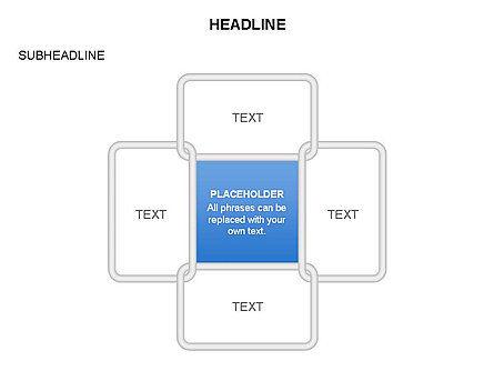 Frames Diagrams, Slide 2, 03592, Organizational Charts — PoweredTemplate.com