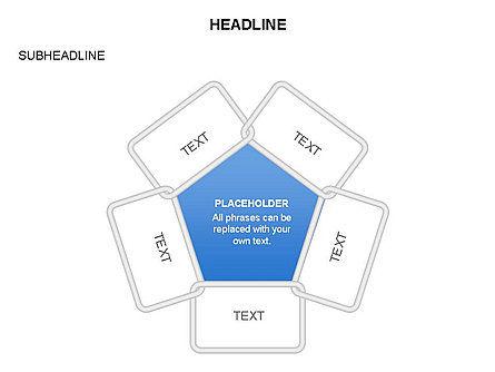 Frames Diagrams, Slide 3, 03592, Organizational Charts — PoweredTemplate.com