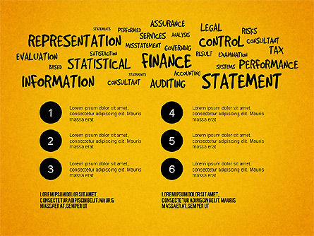 Financial Audit Presentation Concept, Slide 12, 03598, Presentation Templates — PoweredTemplate.com
