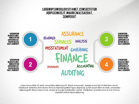 Financial Audit Presentation Concept, Slide 3, 03598, Presentation Templates — PoweredTemplate.com