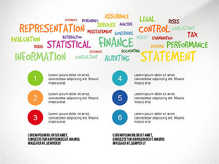 Financial Audit Presentation Concept, Slide 4, 03598, Presentation Templates — PoweredTemplate.com