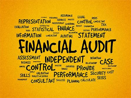 Financial Audit Presentation Concept, Slide 9, 03598, Presentation Templates — PoweredTemplate.com
