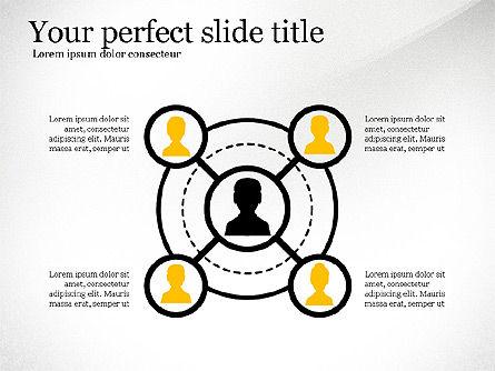 Organizational Charts: Caixa de ferramentas de diagrama de rede #03599