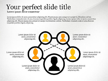 Network Diagram Toolbox, Slide 2, 03599, Organizational Charts — PoweredTemplate.com