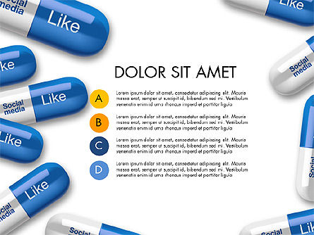 Social Pills Presentation Concept, Slide 3, 03601, Presentation Templates — PoweredTemplate.com