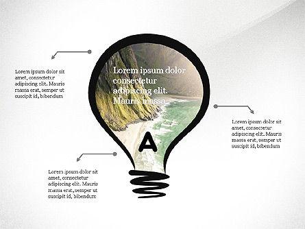 Process Arrows and Idea, Slide 2, 03602, Process Diagrams — PoweredTemplate.com