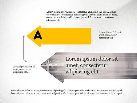 Process Arrows and Idea, Slide 3, 03602, Process Diagrams — PoweredTemplate.com