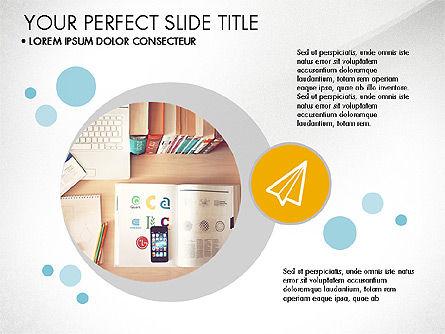 Presentation Templates: Presentazione in stile moderno design piatto #03604