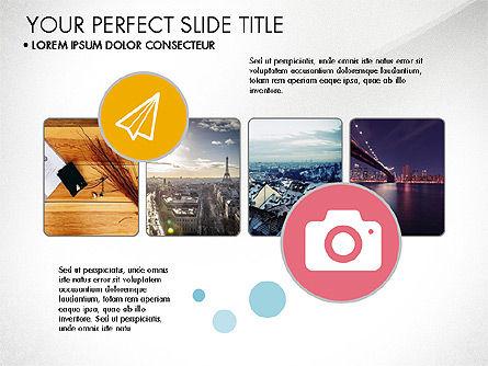 Modern Presentation in Flat Design Style, Slide 2, 03604, Presentation Templates — PoweredTemplate.com