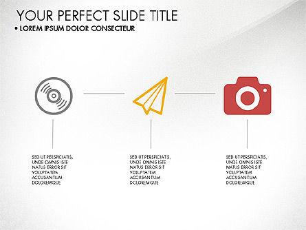 Modern Presentation in Flat Design Style, Slide 4, 03604, Presentation Templates — PoweredTemplate.com